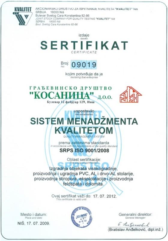 Image of Sertifikat 09019